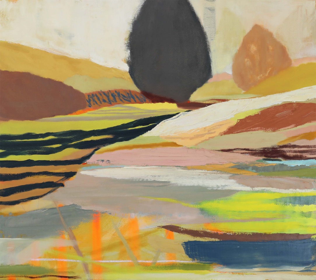 A CAPRICIOUS LANDSCAPE. FINALIST PADDINGTON ART PRIZE. SOLD
