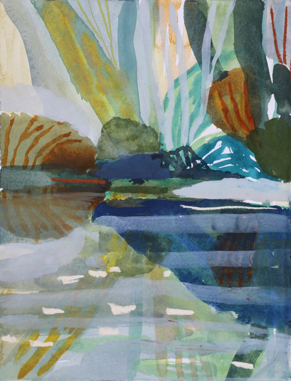 BLUE WATER. DAINTREE STUDY IV. SOLD