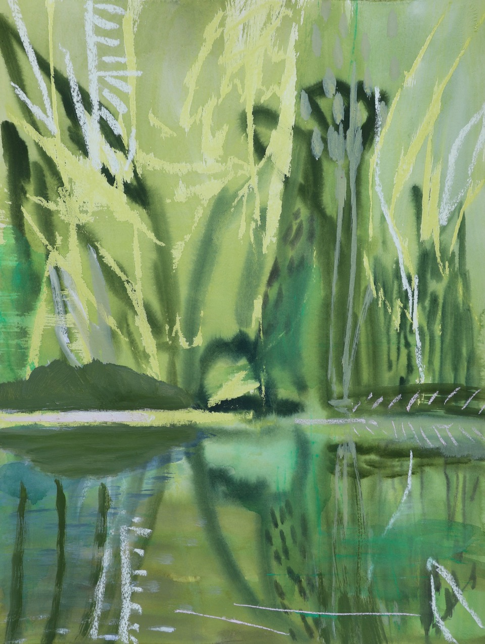 GREEN WATERHOLE I