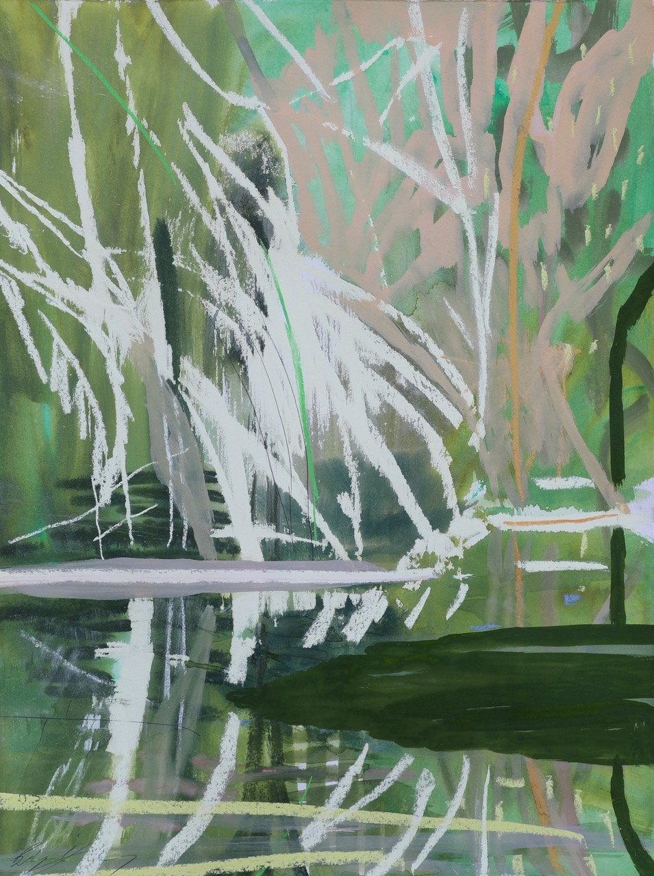 GREEN WATERHOLE II