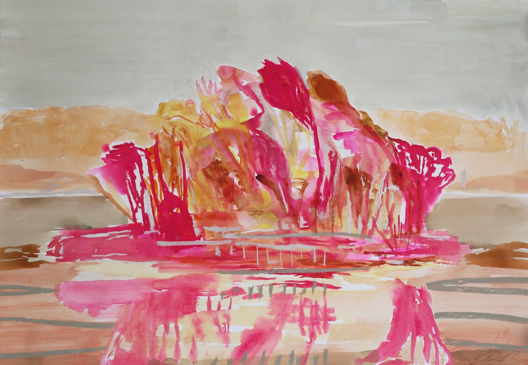 OPERA PINK – SUNSET GLOW. SOLD